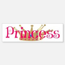 Princess Bumper Bumper Bumper Sticker