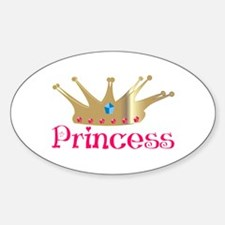Princess Oval Decal