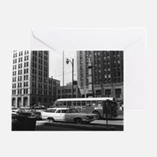 Youngstown Central Square Greeting Cards (Pk of 20