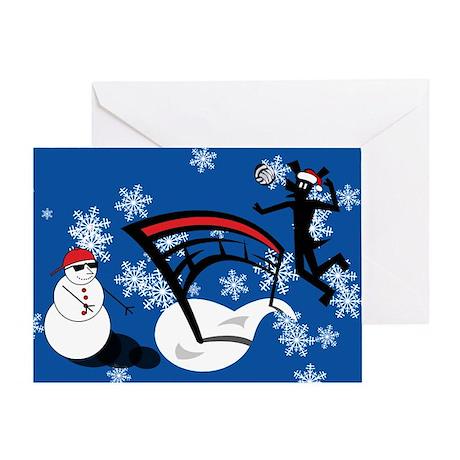 Volleydawg Greeting Card