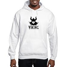 Viking_skull Jumper Hoodie