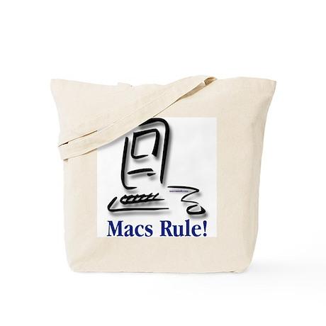 Macs Rule! Tote Bag