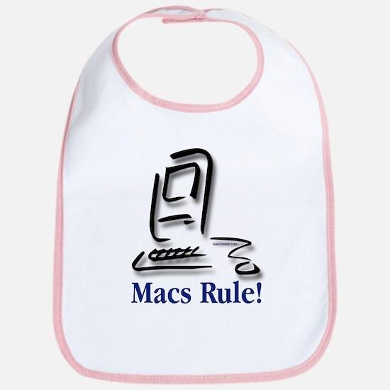 Macs Rule! Bib