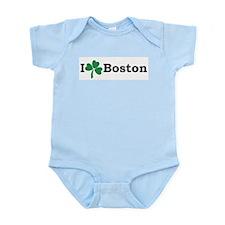 I Heart Boston Infant Bodysuit
