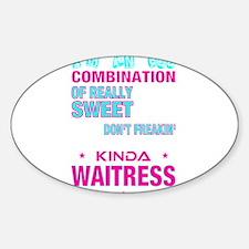 I am waitress T-shirt Decal