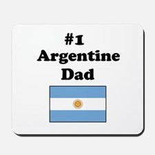 #1 Argentine Dad Mousepad