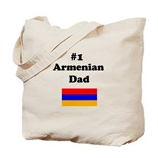 #1 Armenian Dad Tote Bag