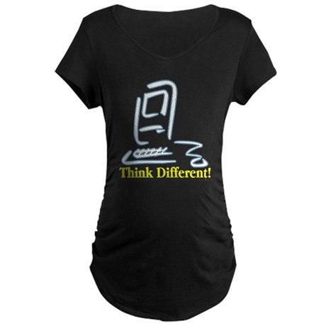Think Different! Maternity Dark T-Shirt