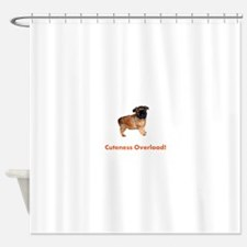 Funny Brussels Shower Curtain