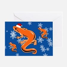 Newt Greeting Card