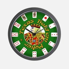 Poker Poker Wall Clock