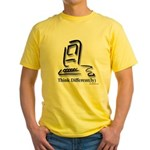 """Think Different(ly)"" Yellow T-Shirt"