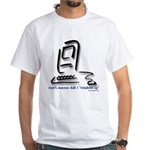 """Kill Windows"" Macintosh White T-Shirt"