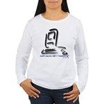 """Kill Windows"" Women's Long Sleeve T-Shirt"