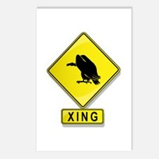 Vulture XING Postcards (Package of 8)