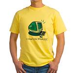 Aye, Mac Yellow T-Shirt
