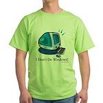 Aye, Mac Green T-Shirt