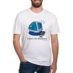 Aye, Mac Fitted T-Shirt