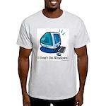 Aye, Mac Ash Grey T-Shirt