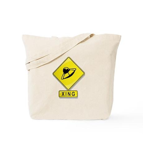 UFO XING Tote Bag