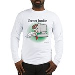 Usenet Junkie #1 Long Sleeve T-Shirt