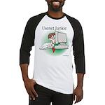Usenet Junkie #1 Baseball Jersey