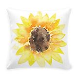 Sunflowers Woven Pillows