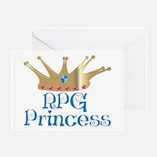 RPG Princess Greeting Card