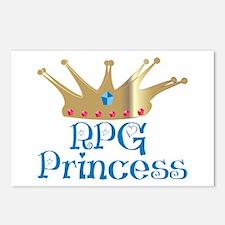 RPG Princess Postcards (Package of 8)