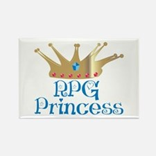 RPG Princess Rectangle Magnet