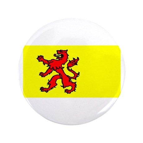 """South Holland Blank Flag 3.5"""" Button (100 pack)"""
