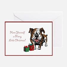 Bulldog Christmas Cards (Pk of 10)