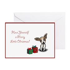 Chihuahua Christmas Cards (Pk of 10)