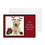 Doodle christmas Greeting Cards (10 Pack)