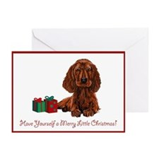 Irish Setter Christmas Cards (Pk of 10)