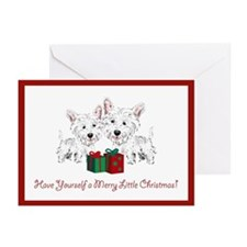 Westie Christmas Cards (Pk of 10)