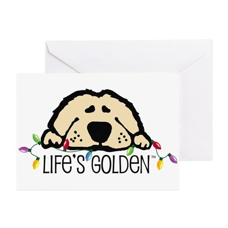 Life's Golden Christmas Greeting Cards