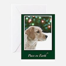 Golden Retriever Peace on Earth Cards