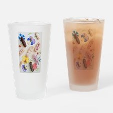 Eclairs with toppings Drinking Glass