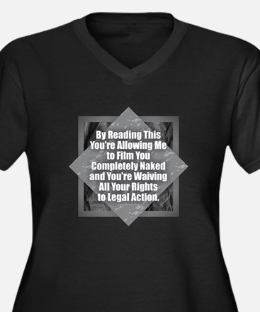 Film Naked Plus Size T-Shirt