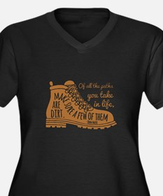 make sure a few of them are dirt Plus Size T-Shirt