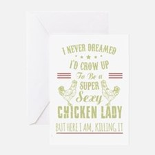 Funny Chicken Greeting Card