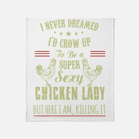 Cute Chicken Throw Blanket
