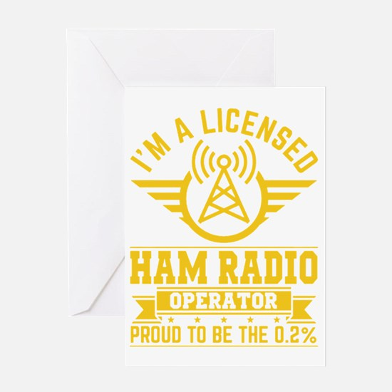 Cute Radio Greeting Card