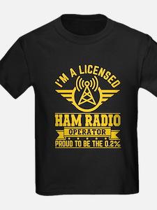 I am a licensed ham radio T-shirt T-Shirt