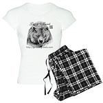 Grizzlys Growls Logo 14 Pajamas
