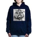 Grizzlys Growls Logo 14 Women's Hooded Sweatshirt