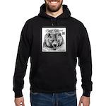 Grizzlys Growls Logo 14 Hoodie