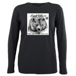 Grizzlys Growls Logo 14 Plus Size Long Sleeve Tee