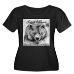 Grizzlys Growls Logo 14 Plus Size T-Shirt